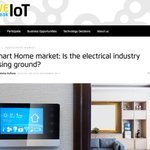 "#SmartHome Market: Where are the classic ""switch and socket manufacturers""? Are they missing out on a gigantic market? #iot #wespeakiot https://t.co/kmp10TtRy5"