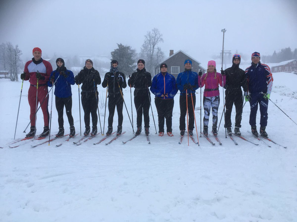 This years #Nordic team have started training in Norway. Watch. This. Space... @ArmySportsLTRY @rafwintersport @1_brigade<br>http://pic.twitter.com/2EG2Zt3EZZ