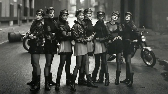 Happy birthday to the legendary photographer Peter Lindbergh.