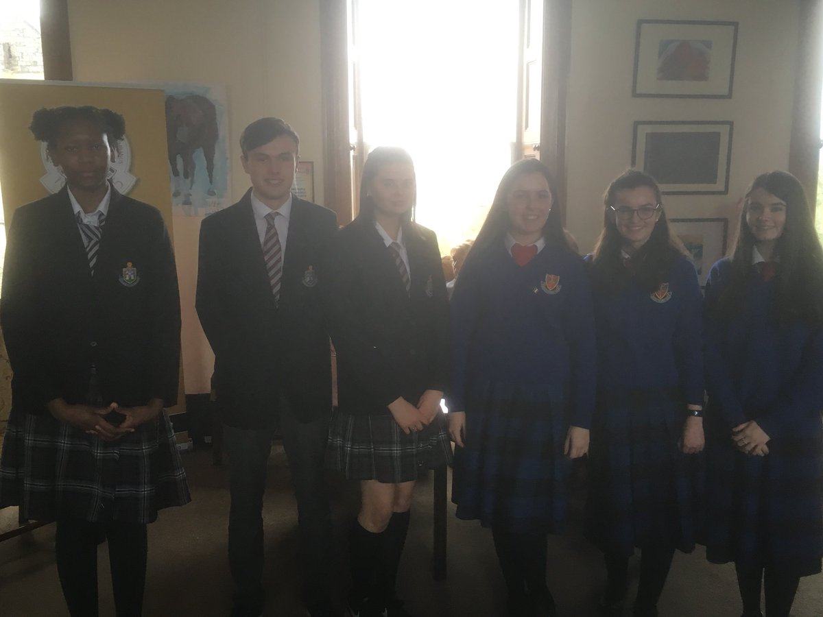 Students from #St Vincent's Dundalk and #Stoliver's #Drogheda competing in the #publicspeaking competition <br>http://pic.twitter.com/XBE5uzBRDA