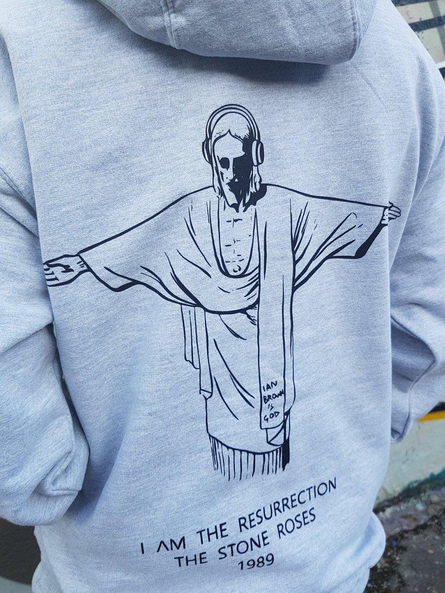 the stone roses t shirt sweatshirt tickets graffiti ian brown cd brown hoodie