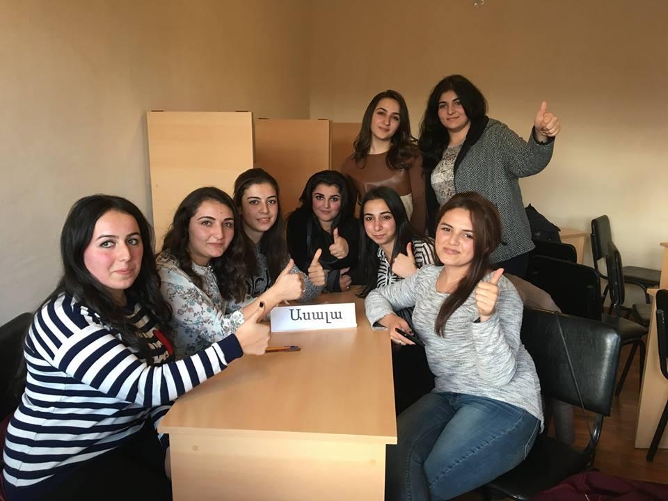 An #interfaculty #intellectualgame contest, devoted to the #Internationalstudentsday, was organized at #ArSU Faculty of #Pedagogy and #Sport. First place went to the team '#ASALA' #StudentsDay  #ԱրՊՀ #Artsakh #Karabakh #Armenia #november17 #ուսանող #տոն #ДеньСтудента