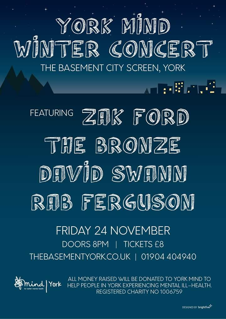 This looks like a rather amazing gig and is all in aid of @TheYorkMind. Go along if you can #livemusic #music #york #yorkshire #northyorkshire <br>http://pic.twitter.com/Vsl1aXJyss
