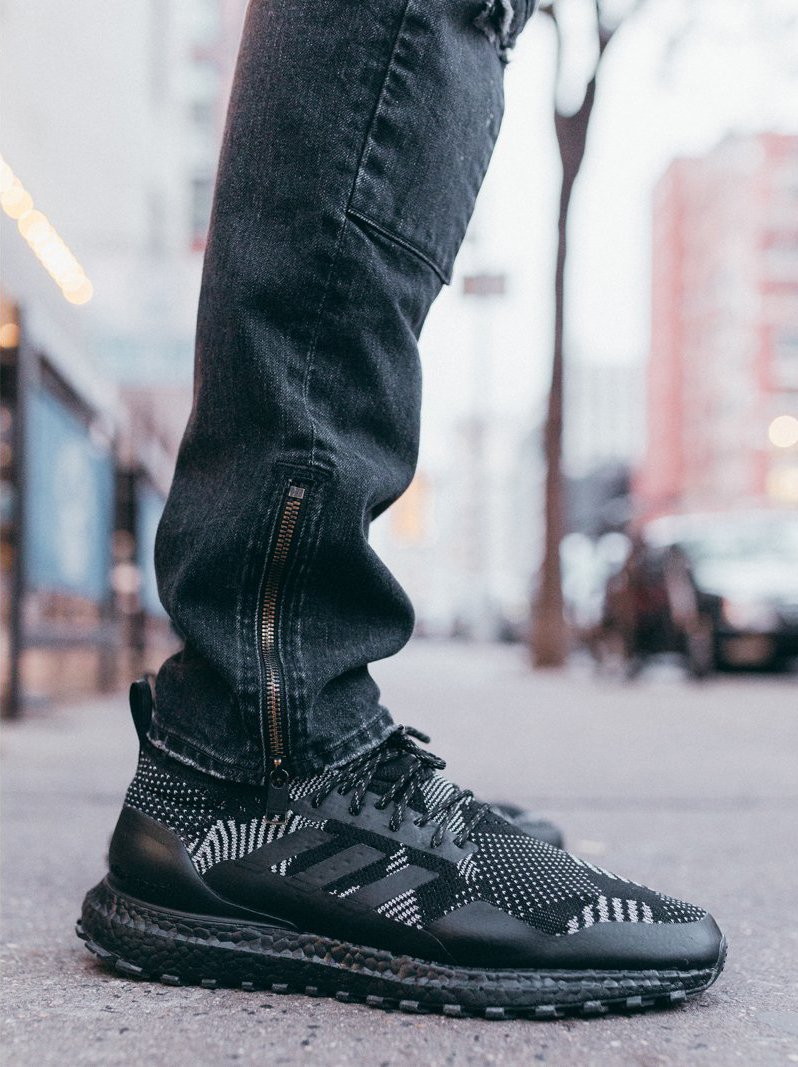 6a54ea847b1 Official images of the Kith x nonnative x adidas Consortium Ultra Boost Mid  and TwinStrike ADV