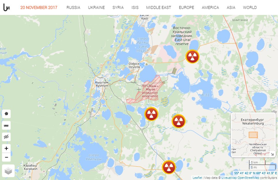 Liveuamap On Twitter Map Of Monitor Stations In Russia Which