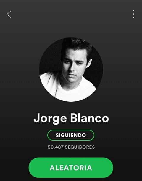 RT @MusicFactsJorge: ¡Jorge ya cuenta con más de 50 mil seguidores en Spotify! 🎉🎉 https://t.co/8A6D43lkW0