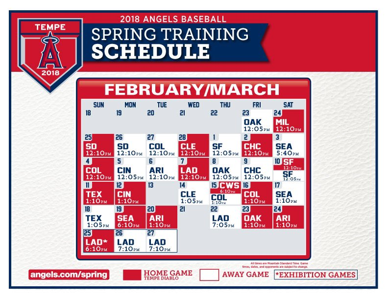 Tempe, here we come!  ⚾️🌵☀️🗓➡️ https://t...