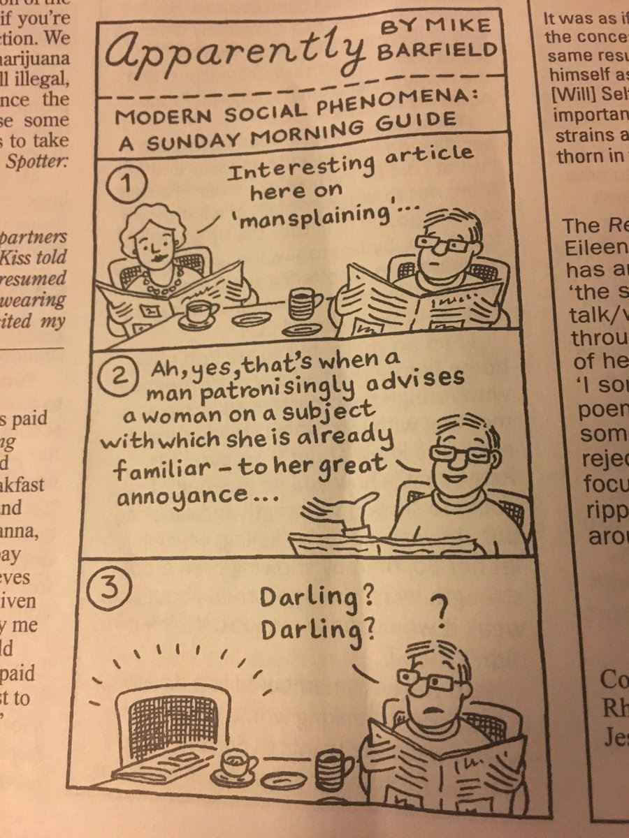 Husbands: show your wife this Private Eye cartoon then ask if she needs you to explain why it's funny #meta <br>http://pic.twitter.com/XdsYSCD3As