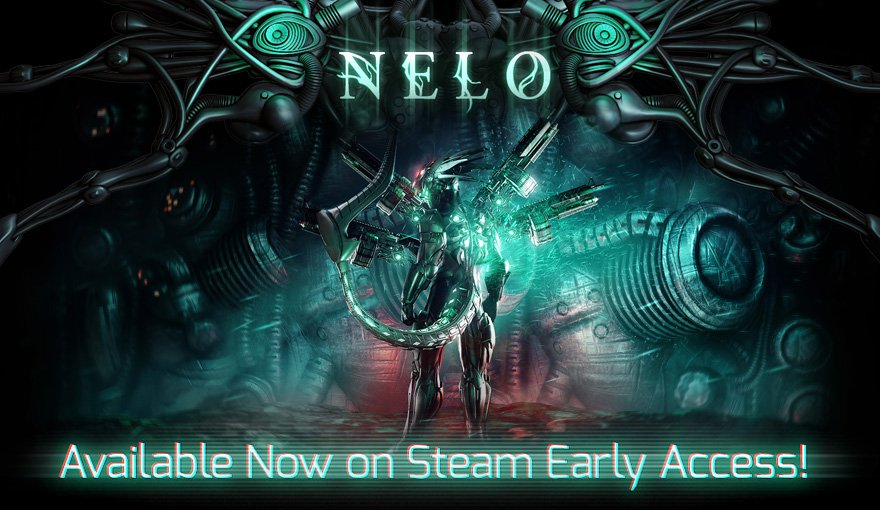 http:// store.steampowered.com/app/537000/Nel o/ &nbsp; …  Nelo is Available Now on Steam Early Access! #nelogame #indiegame #ue4 #shmup #characteraction #bullethell #beatemup #runandgun #shooter #alien #spaceninja #scifi #steam #earlyaccess<br>http://pic.twitter.com/2mSy1NLcuX