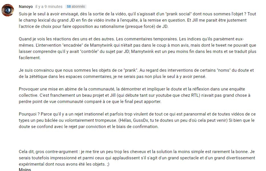 Sylartichot On Twitter Concernant La Video De Legrandjd Et