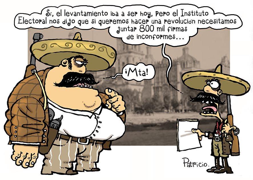 Si la #RevoluciónMexicana hubiera sido a...