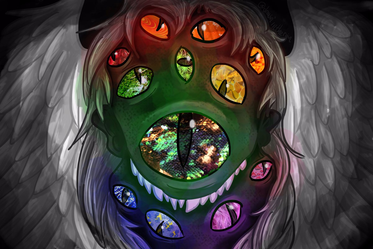 Creative Color Wheel Photography Project For School Monster Art Eyes Originalart Digitalartpictwitter OCH9tfsRZK