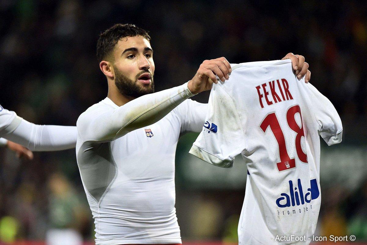 Ben Arfa sur la célébration de Fekir : «Le bon chambrage est celui qui exclut toute forme de méchanceté. Le foot est devenu trop sérieux, le chambrage est de plus en plus mal vu.» (@francefootball)