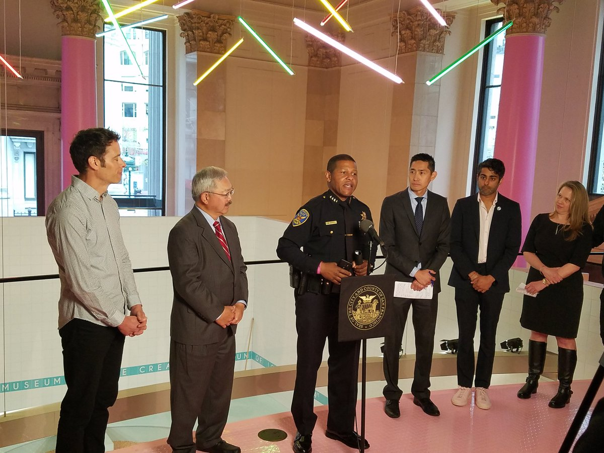 Great to join @mayoredlee &amp; @sfoewd this morning at the Museum of Ice Cream to support #ShopDine49 &amp; local #SF merchants! <br>http://pic.twitter.com/AHnxJOE9ER