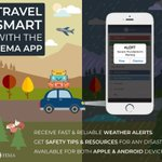 Planning a trip this #Thanksgiving? Download the FEMA app for real time weather alerts and safety tips: https://t.co/K3vY7OwfFo