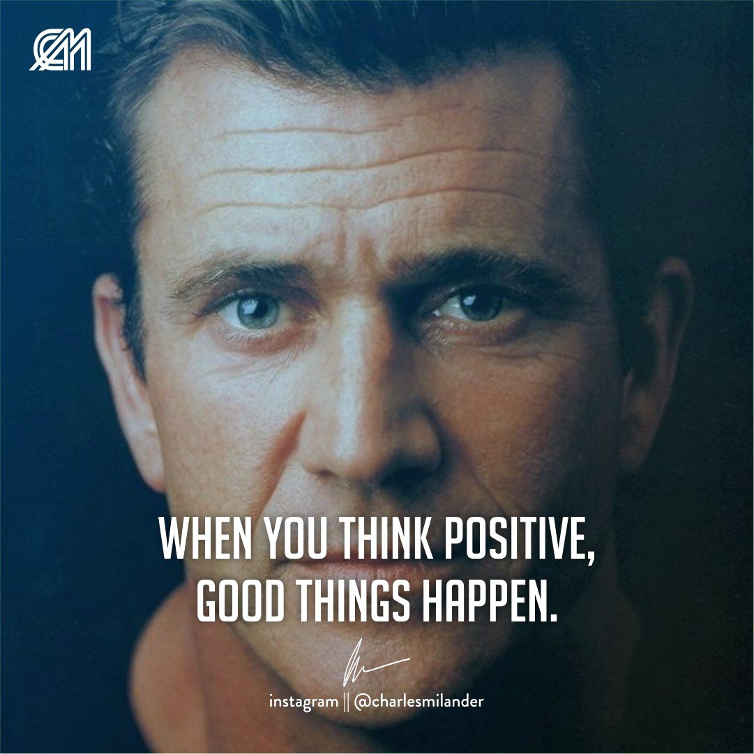 When you think positive, good things happen. #charlesmilander #boss #business #quote #work #entrepreneur #motivation #inspiration #goals #luxury #dreams #hustle #grind #lifestyle #success #instaquote #money #newyork #working #startup #passion #hardwork #happiness<br>http://pic.twitter.com/Lylf5nUUjP