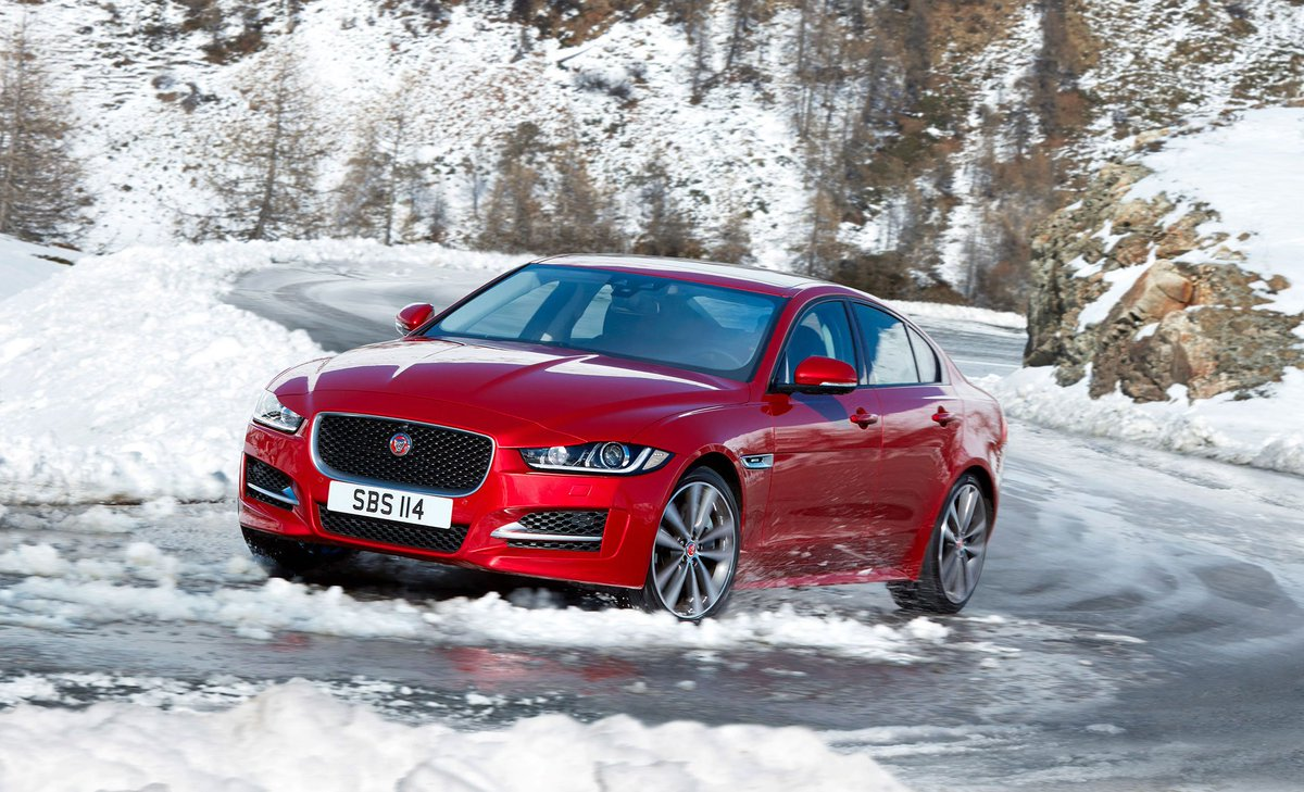 No matter the weather. #XE https://t.co/00w53QTFFN   The XE introduced advanced aluminum intensive architecture to #Jaguar vehicles and AWD is available in all models. https://t.co/eAgS5IbE0n