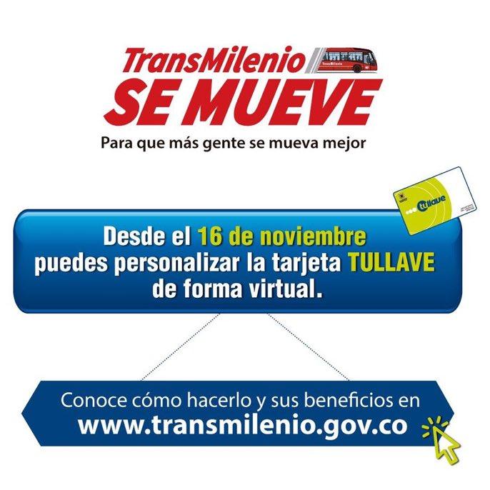 0bbef76a44c6 TransMilenio on Twitter