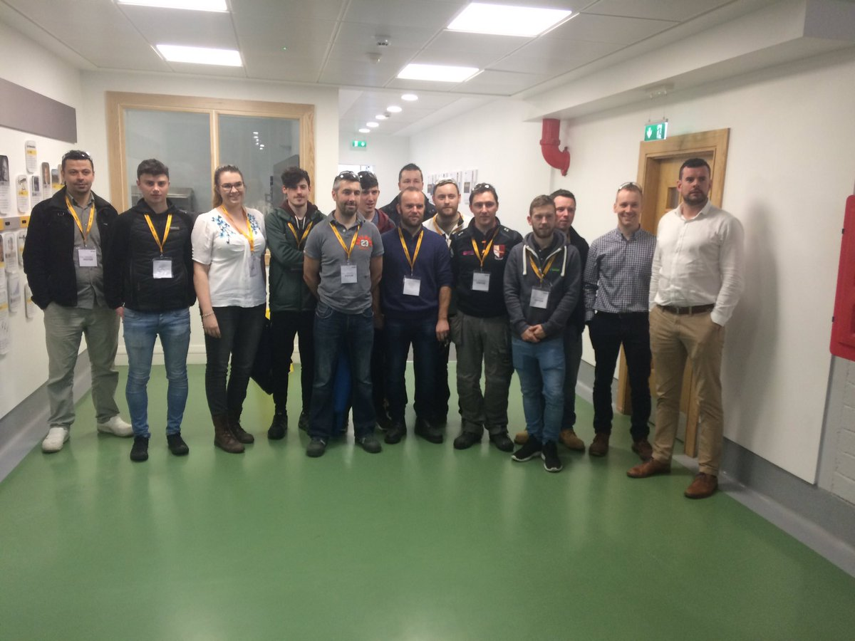 LIT 3rd year Precision Eng students visited Stryker Limerick today. Many thanks to Dave, Tom, Ciaràn and team. They gave up so much time for a great tour @LimerickIT #Stryker <br>http://pic.twitter.com/ApJ2dBJUBn