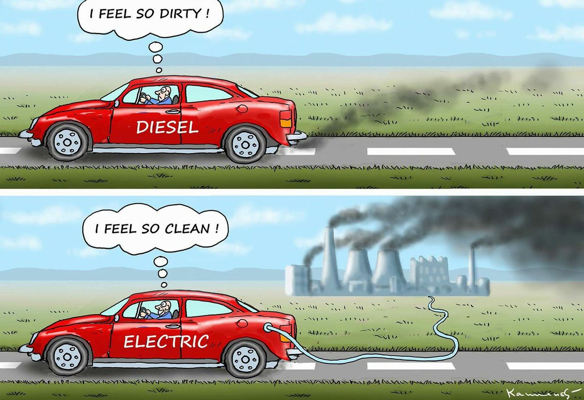 """RT @CFACT: The """"inconvenient truth"""" of electric vehicles. https://t.co/CDdCTqFJjw"""