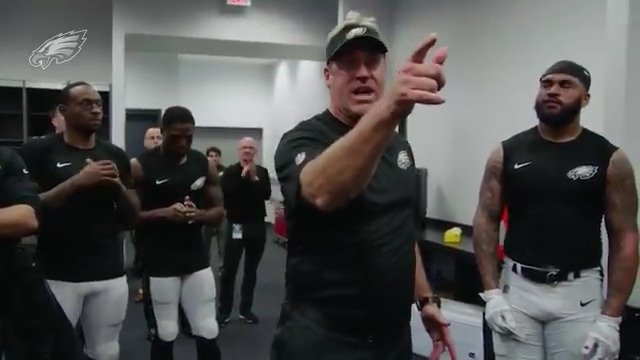 'You're the best team in football right now, but we've still got a long way to go.'  #FlyEaglesFly https://t.co/RUOTWR0efo