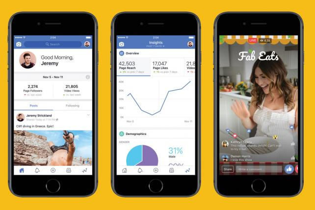 Facebook's new app connects creators with video, fans and Watch shows. https://t.co/G8mKtyQPYX https://t.co/ezgvV7rzmc