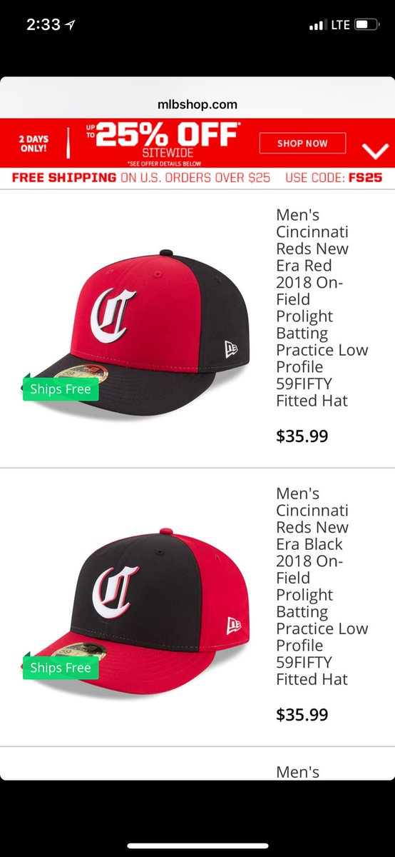 purchase cheap 23fc3 b09d8 ... authentic c. trent rosecrans on twitter the reds new batting practice  hats u2026 1cf96 b45e2