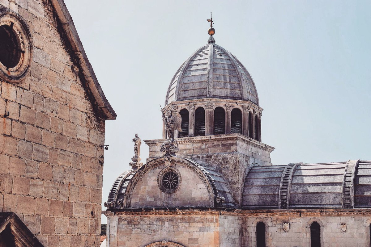 Magnificent #UNESCO-protected St. James&#39; Cathedral in #Šibenik, #Croatia / #travel #travelblog #travelblogger #traveling #exploring #croatiafulloflife RT<br>http://pic.twitter.com/nWfuWQkBvu