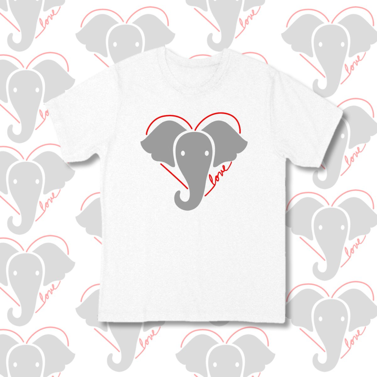 You can support elephants with this new ED by Ellen T-shirt. All of the net profits go to the David Sheldrick Wildlife Trust. @DSWT #BeKindToElephants EDbyEllen.com/ElephantTee