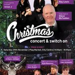 It would be amazing to have you join us this Saturday, #PrestonHour, as we light up #Preston with @SmoothNorthWest we've got a huge traditional live concert and switch on, sponsored by @StGeorgesPR1! #Blackburn #Chorley #Blackpool