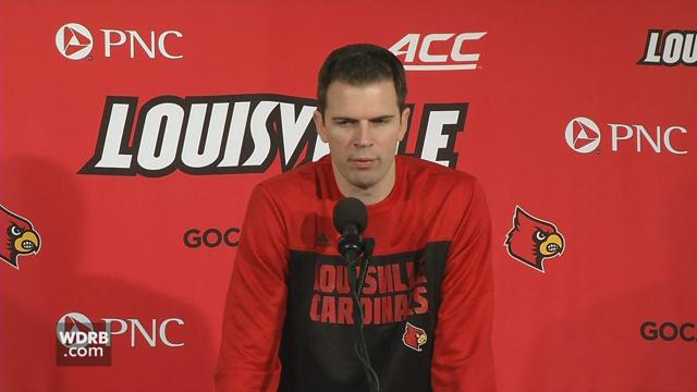 RAW VIDEO | UofL's Padgett discusses upcoming game against S. Illinois https://t.co/bYfmsn5VZy