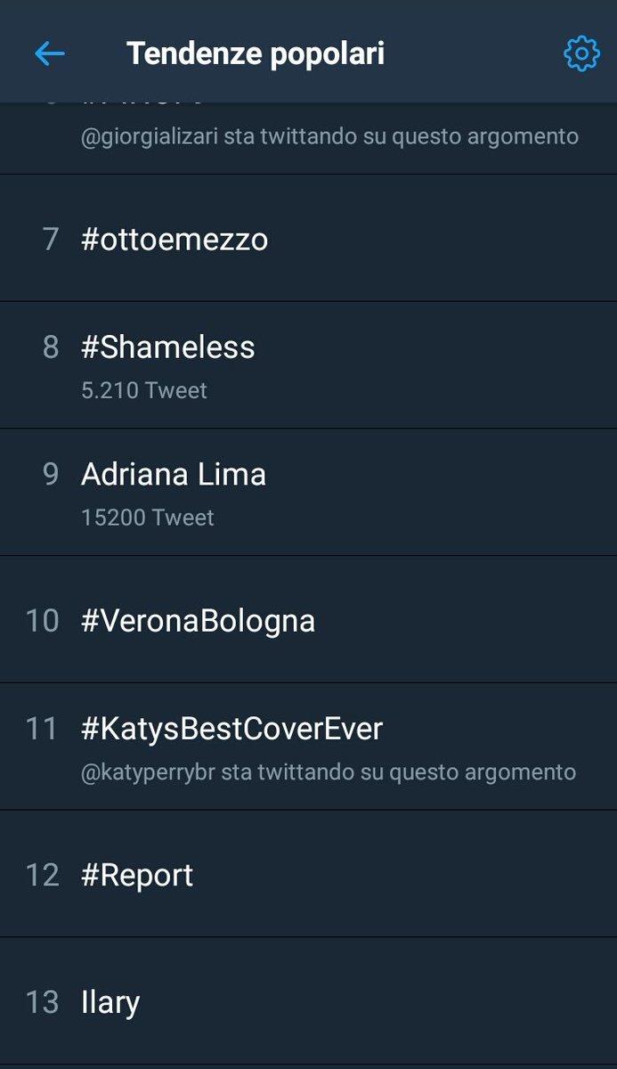 ITS TRENDING IN ITALY !!!  #KatysBestCov...
