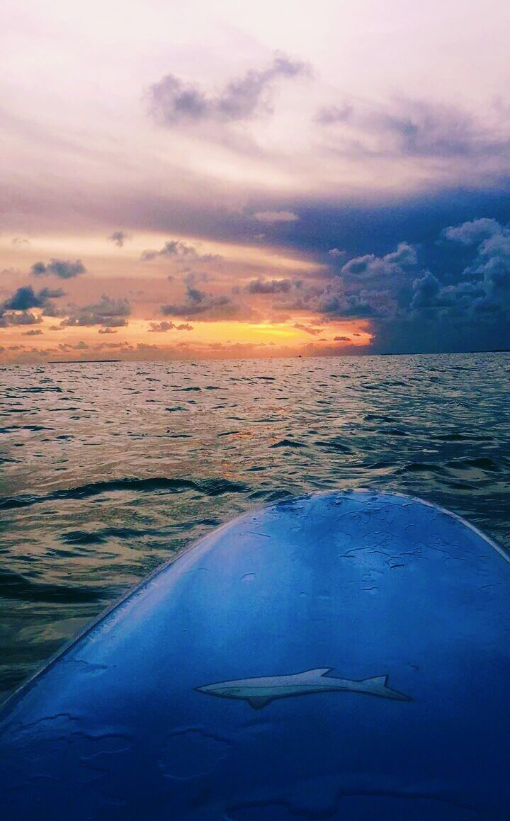 Nothing like a sunset paddle board to end your day in the #FloridaKeys  #sunset #Travel #visitflkeys #ocean #beautiful #sky #colors #paradise #tropical #paddleboard <br>http://pic.twitter.com/aU69DCpMib