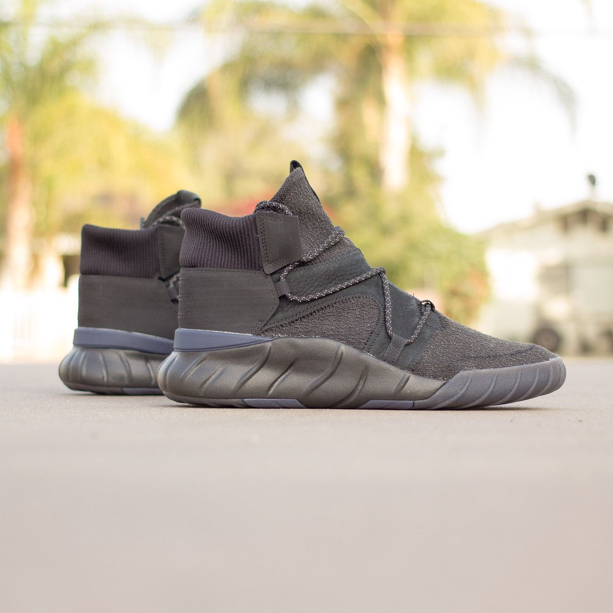 Core Black Covers The adidas Tubular X Primeknit