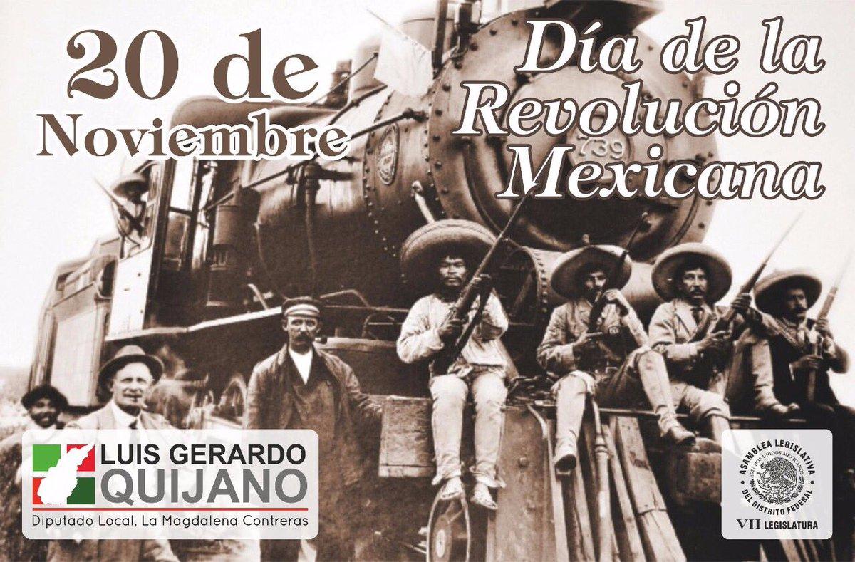 Conmemoramos el 107 aniversario de la #RevoluciónMexicana, una lucha que unió al pueblo en defensa de sus derechos para dar inicio a una nueva era de libertades.