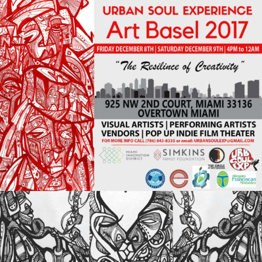 With only a few more days away Art Basel will be in fill effect. You don&#39;t want to miss out on Soul Basel&#39;s year of arts, creation and soul. If touch are looking room have fun or show your artist talents come out or inquire about participating. #MondayMotivation #ArtBasel <br>http://pic.twitter.com/UyM4d38MyS
