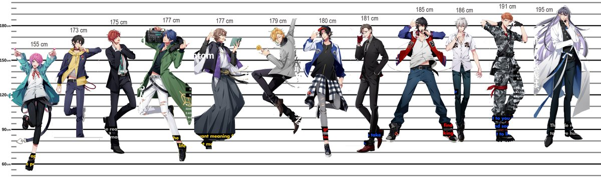 Naked Full Spooky On Twitter Hypmic Characters Height Chart HD Here Tco YSJmypL4TF