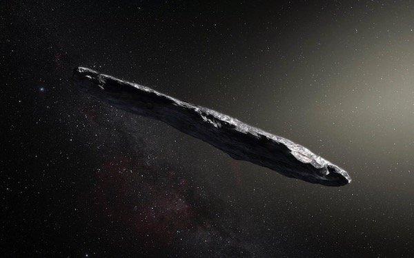 太陽系に飛来した「オウムアムア」 タバコのように細長く回転する天体だった - https://t.co/vdsIWjbpal