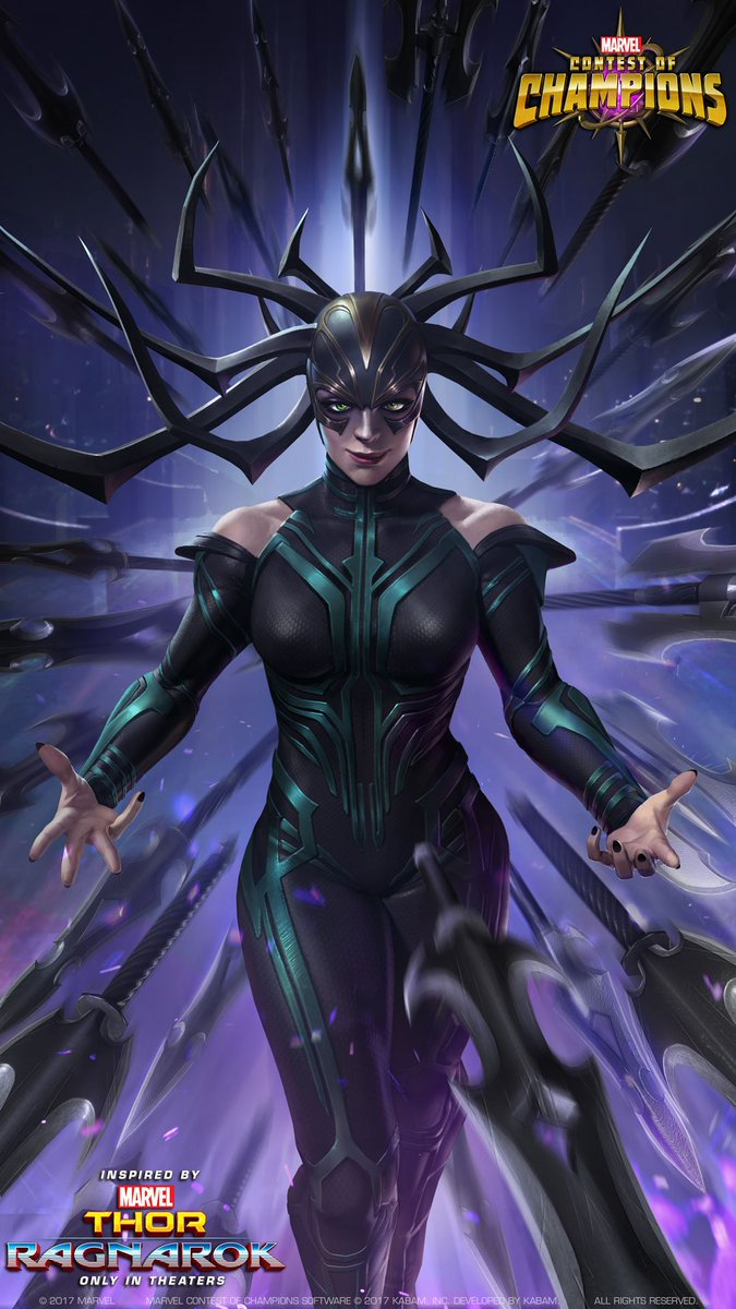 Marvelchampions On Twitter If You Dont Like This Hela Wallpaper