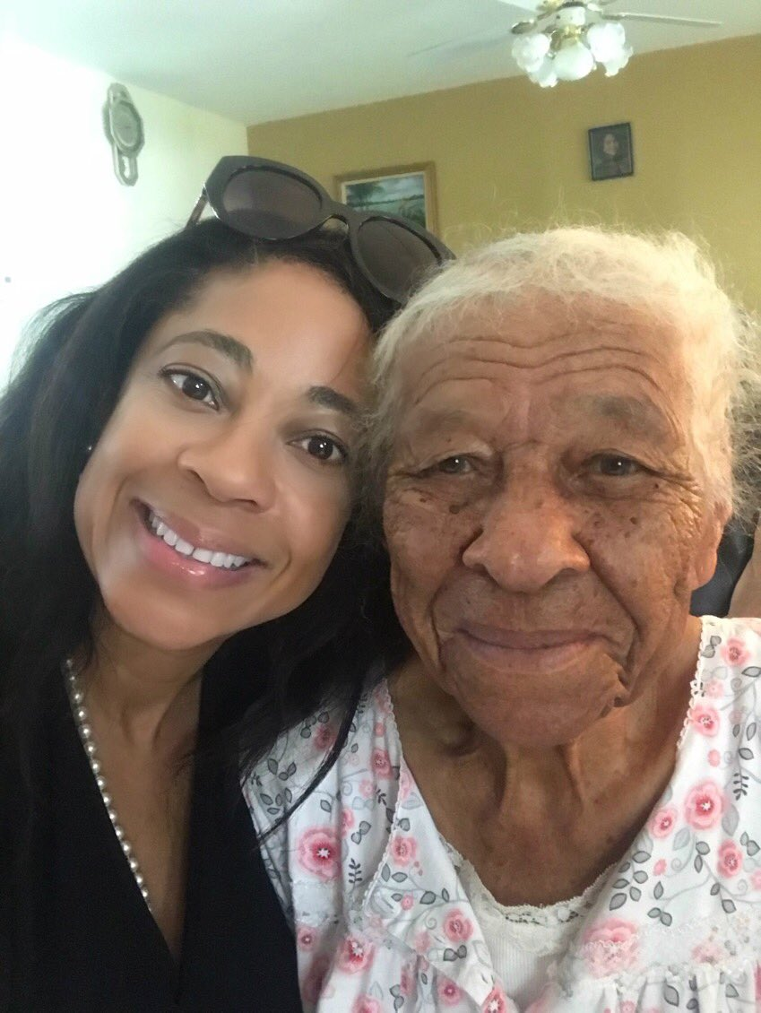 Spending #precious #moments with my #grandmother who constantly dispenses #valuable #advice.          We #respect our #elders. There is #wisdom that comes from #experience, &amp; I am not going to stop #learning from #wise #counsel. #Quote #MarciaFudge #IQRTG<br>http://pic.twitter.com/6M0otdM7jj