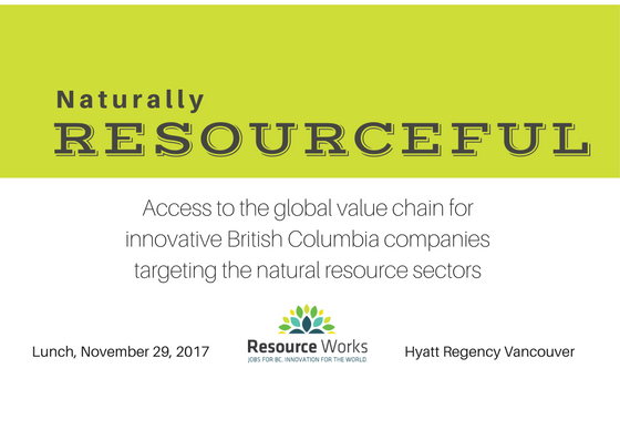 Nine Breakthrough #Resource #Tech companies in #BC: Learn more at our Naturally Resourceful event in Vancouver Nov. 29. Tickets still available.  http:// bit.ly/2ymg455  &nbsp;  <br>http://pic.twitter.com/iEzP4n7ZH4