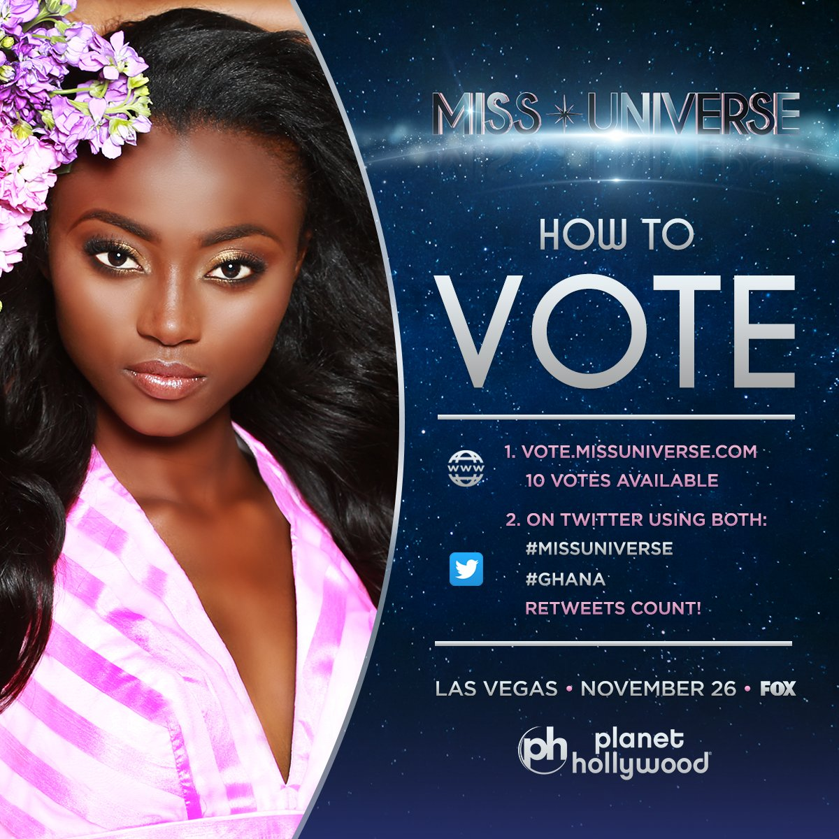 Miss Universe On Twitter Voting For Missuniverse Is Officially