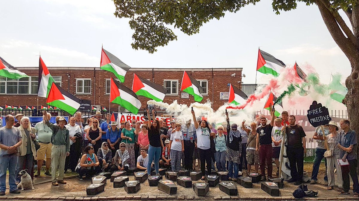 BREAKING:   Charges Dropped!   Celebration/Protest at #Elbit Arms Factory  Join @HudaAmmori &amp; Sam for a celebration/protest at the #Israeli #Drone Factory in Shenstone, 24-11-17 at 9:30am.   #StopArmingIsrael    https:// m.facebook.com/events/4844839 05267861?%3Fti=ia &nbsp; … <br>http://pic.twitter.com/pZRvkx7vqO