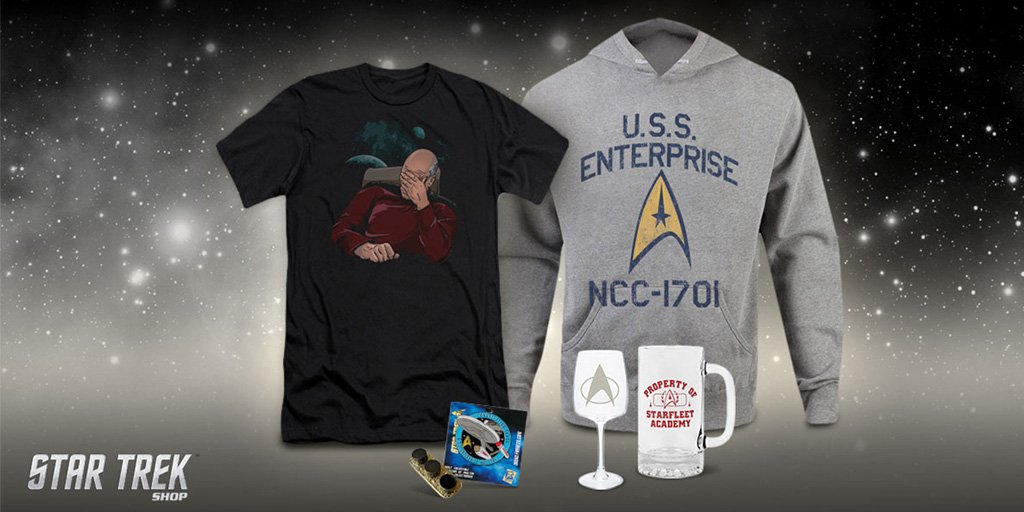 Engage in the latest #StarTrek deals! #M...