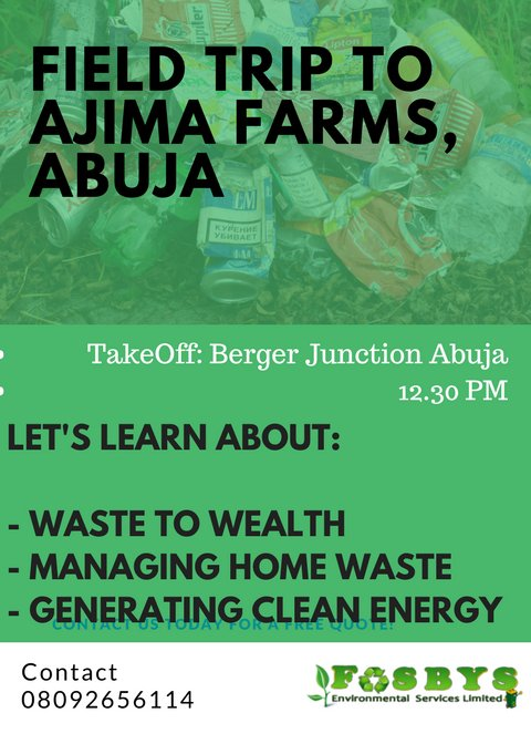 @AJIMAFARMS is an indigenous farm in Abuja, Nigeria with an amazing integrated system. If you're in Abuja, join @Tomaldo06on and friends on this amazing field trip to learn about #Nov26 #Waste2Wealth #CleanEnergy #HomeWaste pic.twitter.com/RyYoCRshRM