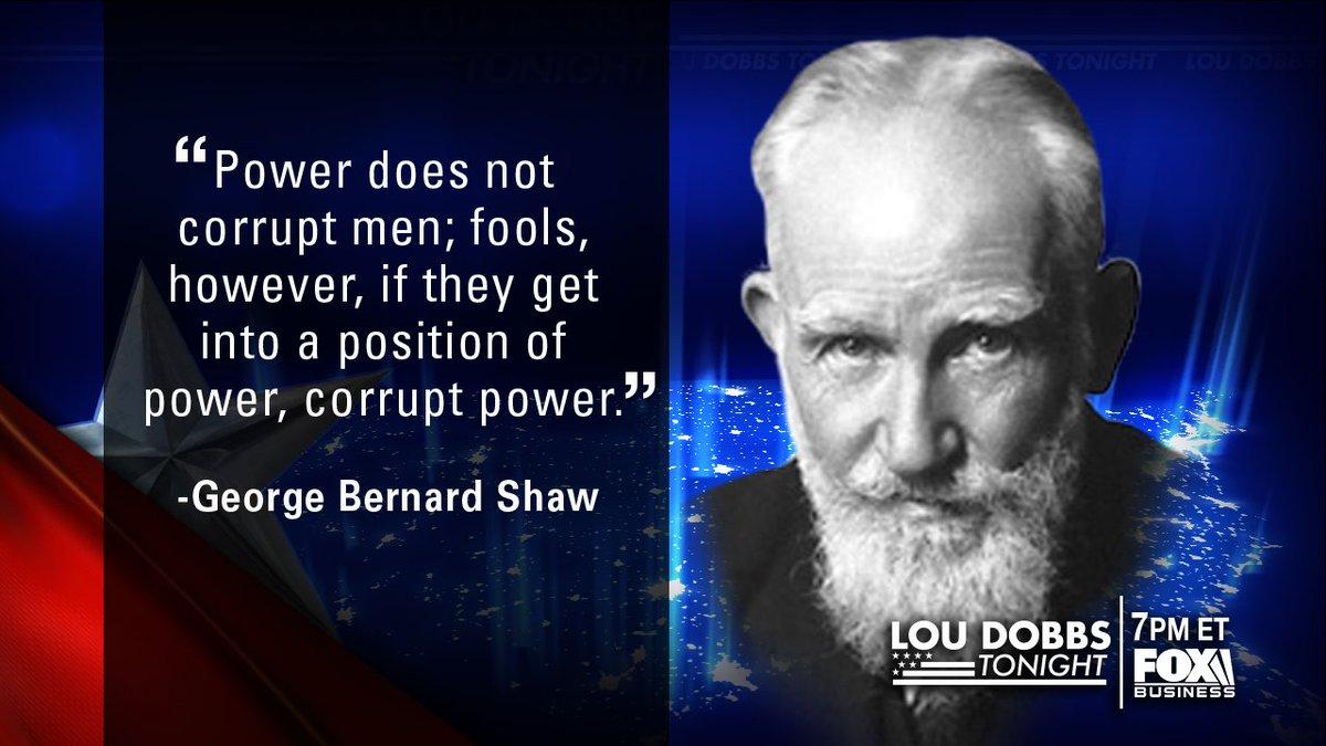 Tonight's #QuoteofTheDay from George Bernard Shaw! #MAGA #TrumpTrain #Dobbs