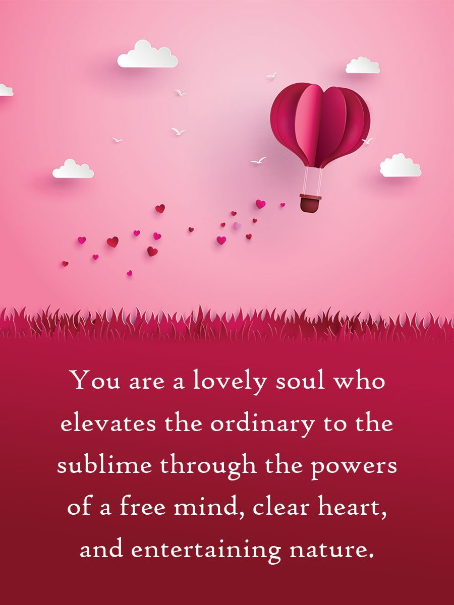 You are a lovely #soul who elevates the ordinary to sublime through the powers of a free mind, clear heart, and entertaining nature.  #ThinkBIGSundayWithMarsha #InspireThemRetweetTuesday #IQRTG #JoyTrain  #TuesdayThoughts #TuesdayMotivation<br>http://pic.twitter.com/TzCEjJLYXY