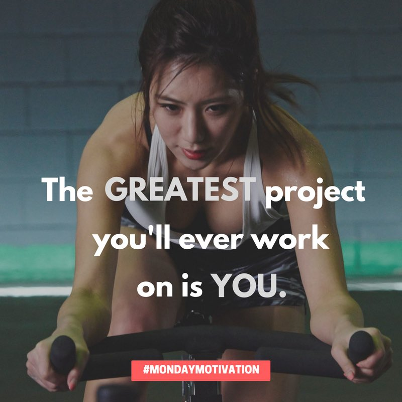 RT @GNCCanada: The GREATEST project you'll ever work on is YOU.  #MondayMotivation #Fitness #Health #Wellness https://t.co/mVGdPf8ans