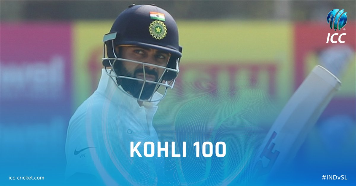 Test Century No 18 for kohli  50th International Hundred. What a Player he is!!!!