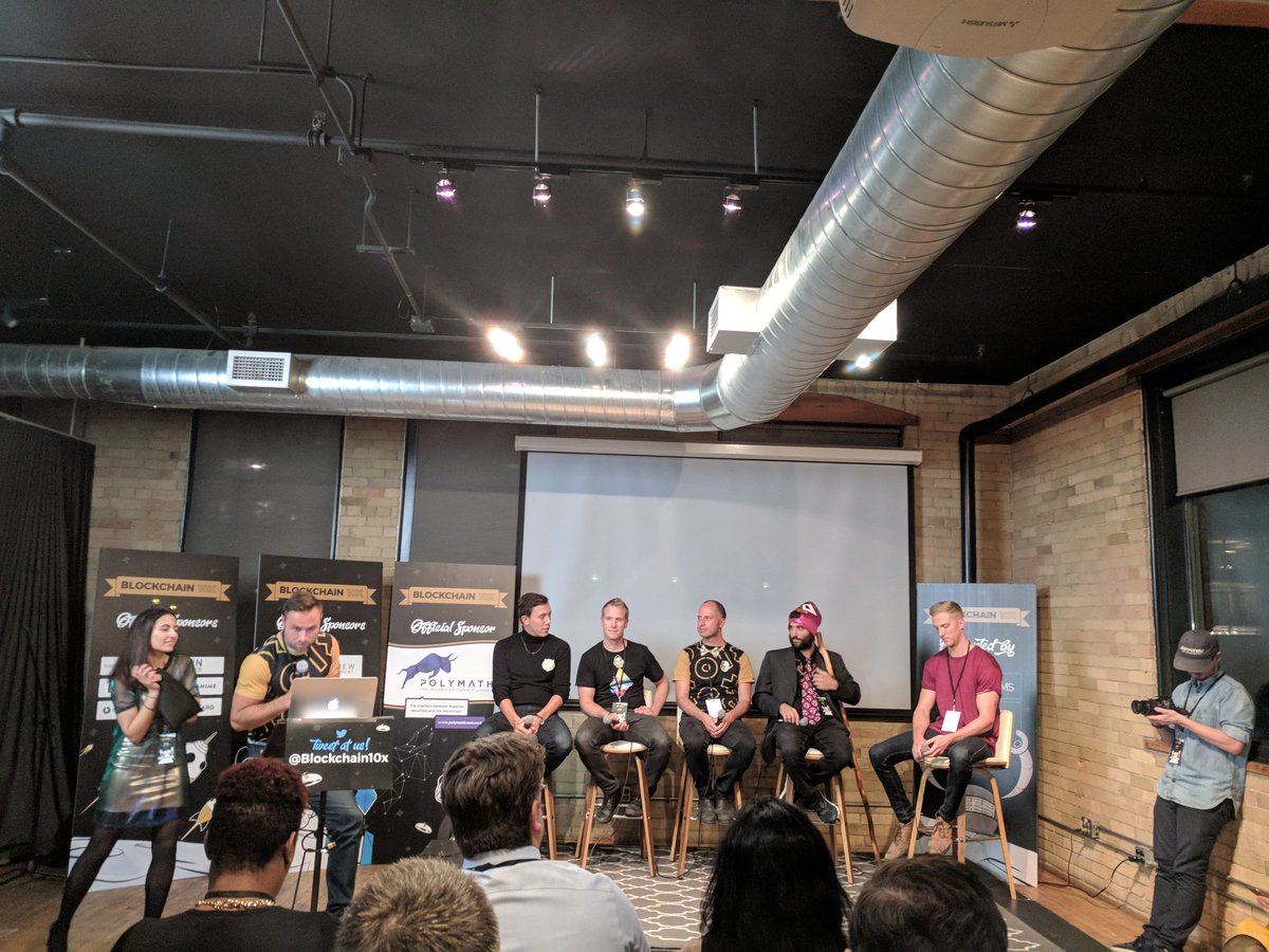 Panel 02: ICOs – What the hell and why? @blockchain10x @PixelDreams https://t.co/4yFJdAmynp
